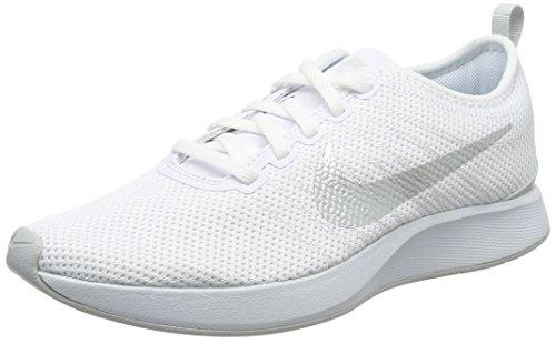 Platinum para Blanco Nike 001 W White Racer Mujer Zapatillas Dualtone Pure waFzC