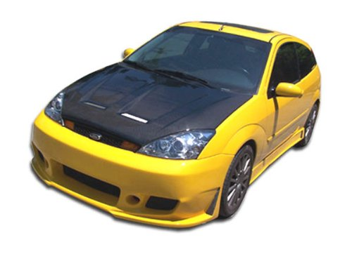 Duraflex Replacement for 2000-2004 Ford Focus ZX3 B-2 Body Kit - 4 Piece