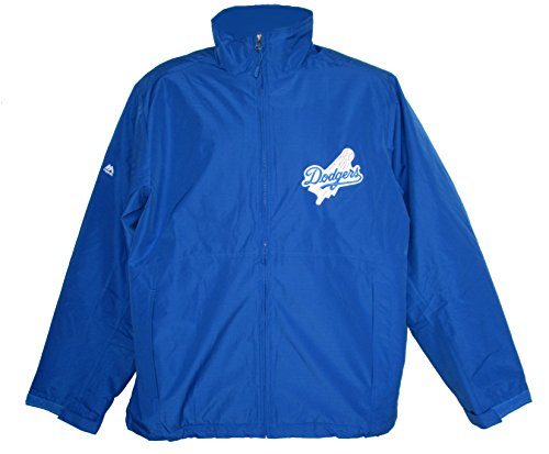 Los Angeles Dodgers 2X-Large 2XL Majestic Full Zipper Jacket - (Majestic Dodgers Jacket)