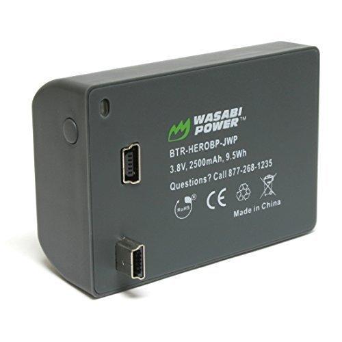 Wasabi Battery for Gopro Hero 4 - 6