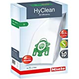 Miele Hyclean 3D U Series SMS Bags and Filter Set Pack Of 4 Plus 2