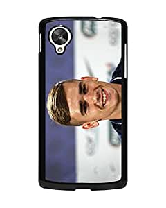 Talltowerell - Antoine Griezmann Nexus 5 Funda Case, Football Player Pretty Pattern Drop Protection Anti Slip Protective Funda Case Cover For Google Nexus 5