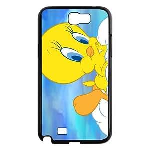 Samsung Galaxy N2 7100 Cell Phone Case Black Tweety Bird K5B8QP