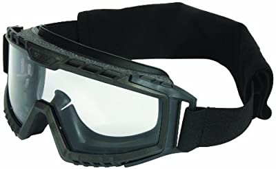 UVEX by Honeywell S0750D XMF Tactical Goggle, Black