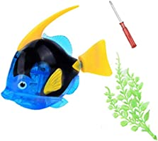 Electric Flashing Water Fish Magical Interesting Bath Shower Toy for Kid Gifts