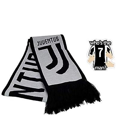 Icon Sport Juventus Scarf 2019 2020 Winter Black Official Licensed Merchandise New Season Warm Set 2 pcs JV011