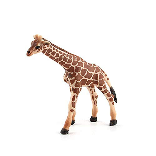 Livoty Simulated Giraffe Model Toy Educational Science Toy Collection for Kids Children Decoration (A)
