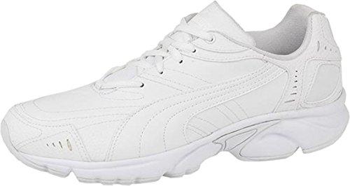 Para hombre New axis-Hahmer de dos piezas de lazos de-up de calcetines para multi-apta para deportes Trainer surtidos blanco - blanco