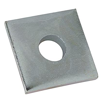 3//8 Steel//Galvanized Pack of 10 Size Kindorf H 119 C Square Washer