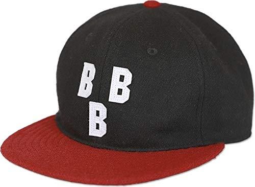 5e94c4ad2dd Cultural Exchange Big Boy Birmingham Black Barons NLBM Heritage Mens Wool  Cap  Black - Adjustable