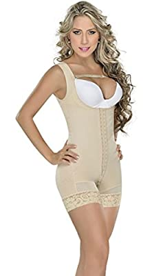 MYD 0065 Colombian Mid Thigh Full Body Shaper for Women | Fajas Colombianas