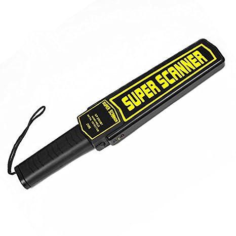 Dobo® Escáner metaldetector Detector Seguridad metales cercametalli rileva portátil carpintero negro dorado Metal Hierro Cobre Cables columnas acero: ...