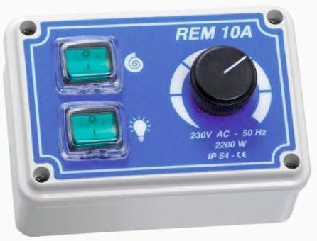 Regulador de velocidad – ejecución manual regulador REM10A campana extractora: Amazon.es: Hogar