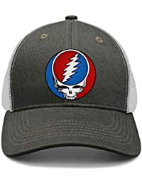 d23faf05f90 Mens Woman Adjustable Trucker Hat Grateful-Style-Dead-Symbol-Steal-