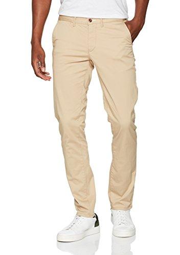 Chino Twill Slim Khaki Uomo Pantaloni Dark Gant UWqwFvCBB