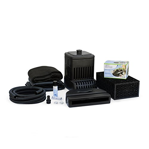 Green Vista's UPGRADED- Aquascape MicroPondless Waterfall Kit WITH 8 FT STREAM