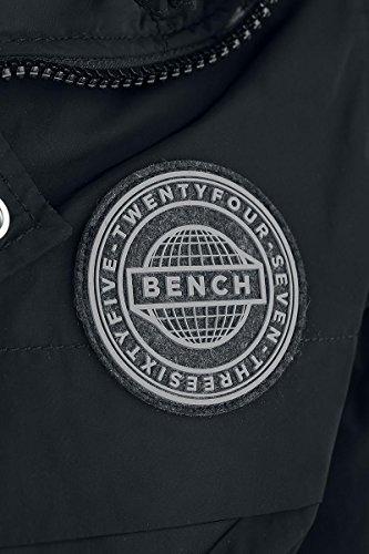 Uomo Giacca Bench Nomens Nero Jacket Bomber wSwIqa