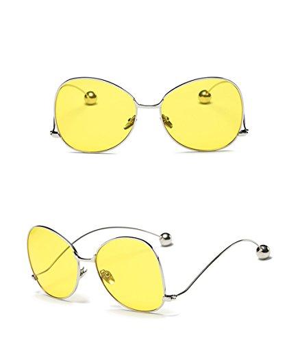 sol estilo de sol Gafas C de grandes G gafas sol redondas de Color QQB de con Gafas gafas Gafas pequeñas con de gafas retro sol qYvaTw