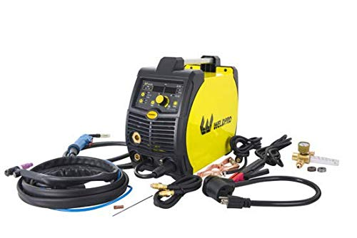 2020 Weldpro 200 Amp Inverter Multi Process Welder with Dual Voltage 220V/110V Mig/Tig/Arc Stick 3 in 1 welder/welding machine