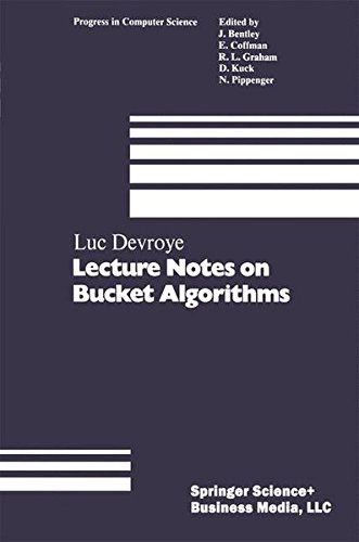 Lecture Notes on Bucket Algorithms by Birkhäuser