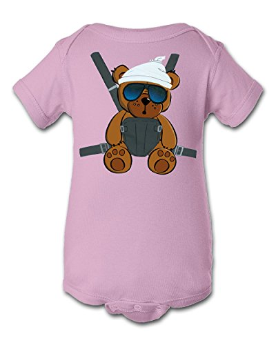 Tee Tee Monster Baby Boys'Hangover Inspired Onesie 6 Month Pink -