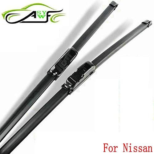 Best Quality - Windscreen Wipers - Car Wiper Blade for Nissan Bluebird Leaf Micra Pathfinder Primera Sentra Qashqai TIIDA 2pcs/Pair fit Standard J Hook Wiper arms - by SeedWorld - 1 PCs ()