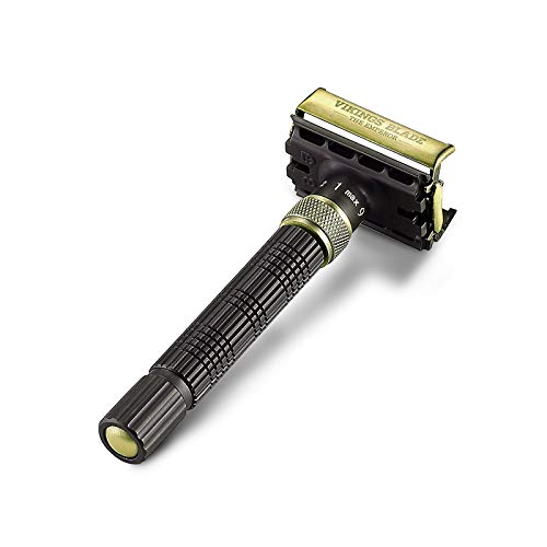 VIKINGS BLADE The Emperor 'AUGUSTUS' Adjustable Safety Razor (AUGUSTUS Edition)