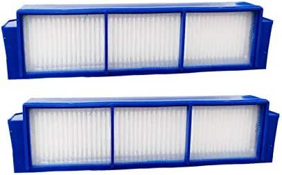 Hannets 2 Filtros de Repuesto Compatible con Philips FC8792, FC8794 y FC8496 I Philips Robot Aspirador I Philipps Accesorios Robot Aspirador de Repuesto n.º P-2F: Amazon.es: Hogar