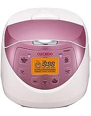 CUCKOO CR-0631F rijstkoker voor 6 pers. LCD display koken & veiligheidsfuncties aluminium pot.