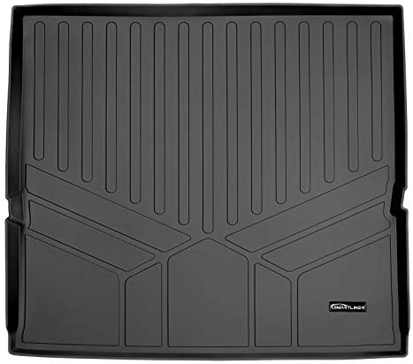 SMARTLINER All Weather Custom Fit Cargo Liner Behind the 2nd Row Black Compatible With 2015-2020 Chevrolet Tahoe / GMC Yukon / Cadillac Escalade (Does not fit ESV Models)