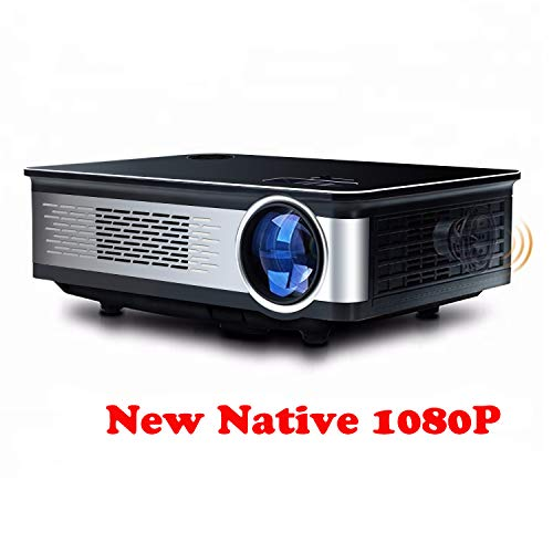 (Topfoison Native 1080p Full HD Home Theater Video LED Projector- Big Screen,Up to 150 Inch Size,Compatible with TV-Box,Fire TV ROKU Sticks,SD, PS4,Laptop,DVD for Home ,Film,Movie)