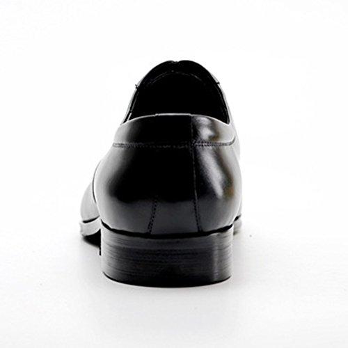 Banchetto Scarpe Scarpe Da Vera Formale Sposa Punta A Uomo Da Punta In Maschili Da Per Pelle Con Uomo Black Scarpe Casual PvBqxw6U6