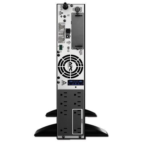 APC Smart-UPS 750VA 600W 120V Rack/Tower LCD Battery Backup Power Supply (SMX750)