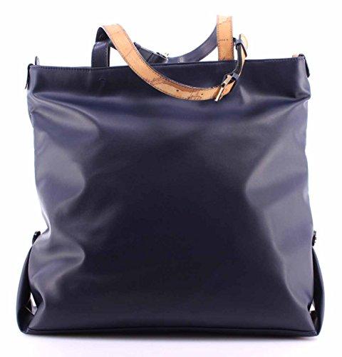 Borsa a Mano Donna ALVIERO MARTINI 1° Classe LGG809406 Shopping Bag Navy Blue