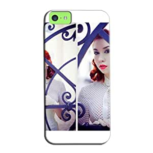 Horse Horse 3D And CG For Iphone 5c Protective Hard Case White DFckTFZF49O