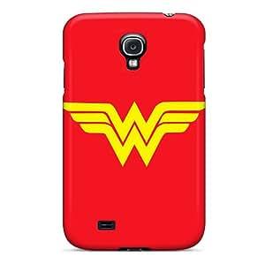 PhilHolmes Samsung Galaxy S4 Protective Cell-phone Hard Cover Custom Nice Wonder Woman Image [PjG19880dzzp]
