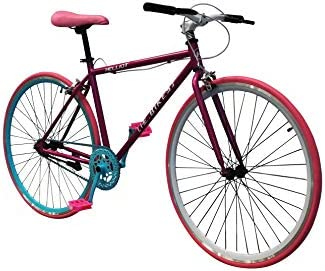 Helliot Bikes Soho 06 Bicicleta Fixie Urbana, Unisex Adulto, Rosa, M-L: Amazon.es: Deportes y aire libre