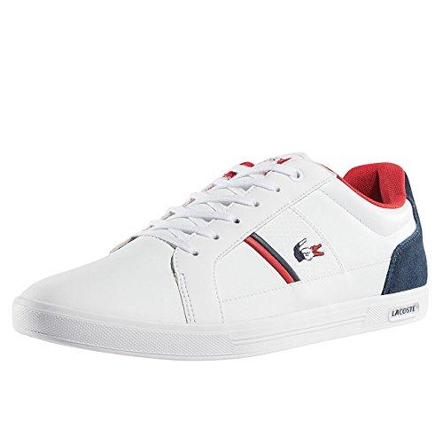 Lacoste Herren Schuhe / Sneaker Europa 317 SPM LT weiß 44.5