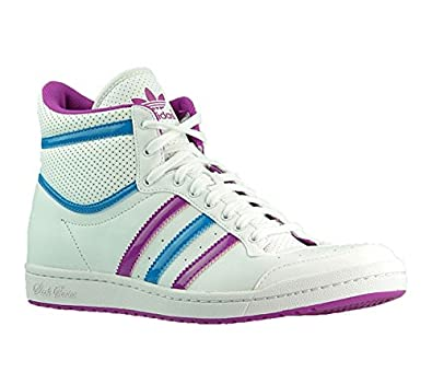 Ten Q23606Amazon Damen Top W Hightop Weiß Hi Sneaker Sleek Adidas T31ucFJlK5