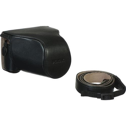 Pentax Leather - Pentax O-CC1512 Leather Case for Q-S1 Camera, Black