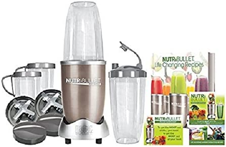 NutriBullet Pro - Extractor de nutrientes 900 W, color oro ...