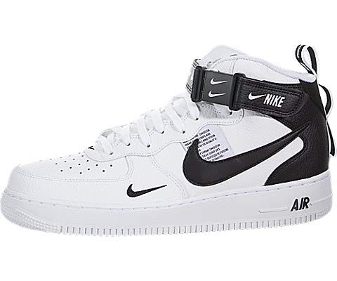 Nike Mens Air Force 1 Mid '07 Lv8 Basketball Shoes (10.5)