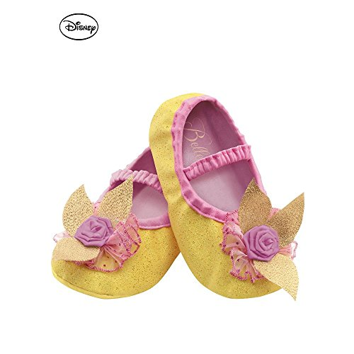 Disguise Costumes Belle Slippers, Toddler, Size 6 ()