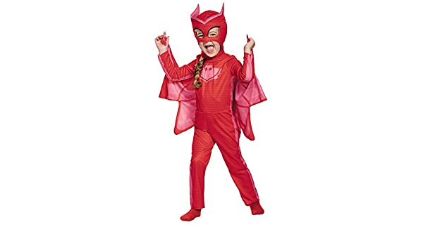 Amazon.com: UHC Girls PJ Masks Classic Owlette Theme Outfit Child Halloween Costume, Toddler M (3T-4T): Clothing