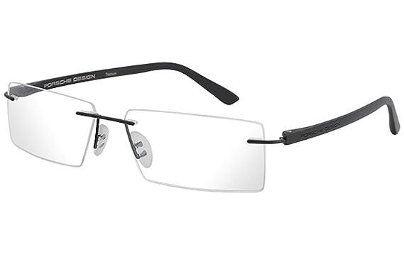4d29b4e8977 Porsche Design Men s Eyeglasses P 8205 P8205 S2 F Black Optical Frame 58MM