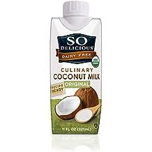 So Delicious Culinary Coconut Milk Original, 11 Ounce (Pack of 12)