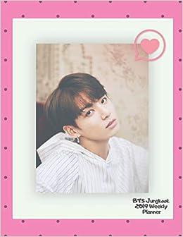 BTS Jungkook 2019 Weekly Planner: Monthly & Weekly Planner