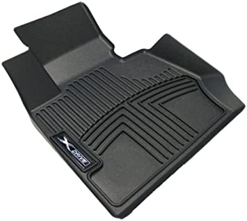 Amazon Com Oem Bmw All Weather Rubber Floor Liners Black Front
