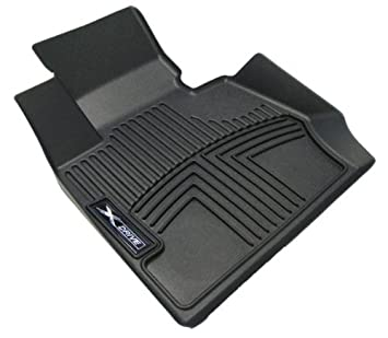 BMW 3 Layer Thermoplastic All Weather Floor Liners; 3 Series (F30) Sedan