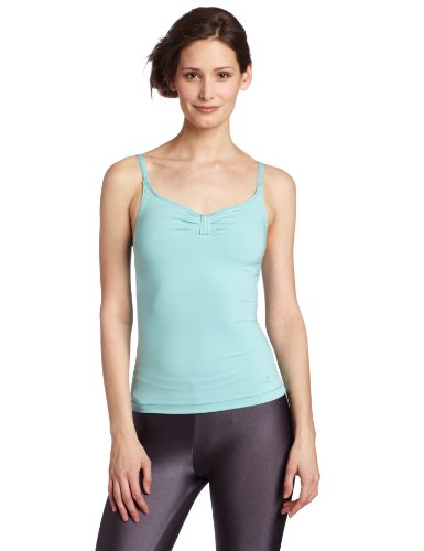 Danskin Women's Camisole Top, Aqua Haze, Medium